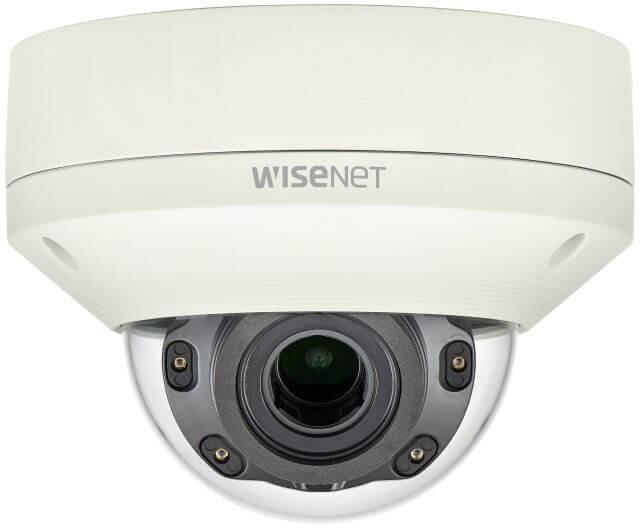 Samsung / Hanwha XNVL6080R 2 Megapixel Vandal-Resistant Network IR Dome Camera