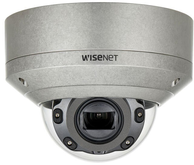 Samsung / Hanwha XNV6080RS 2M Stainless Vandal-Resistant Network IR Dome Camera