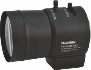 """Fujinon YV10x5B-SA2L 1/3"""" Vari-Focal DC auto iris Lens"""