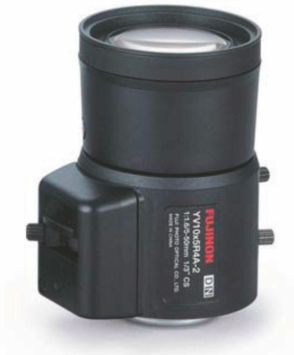 "Fujinon YV10x5HR4A-2 1/3"" Vari-Focal 1.3 Megapixel Lens"