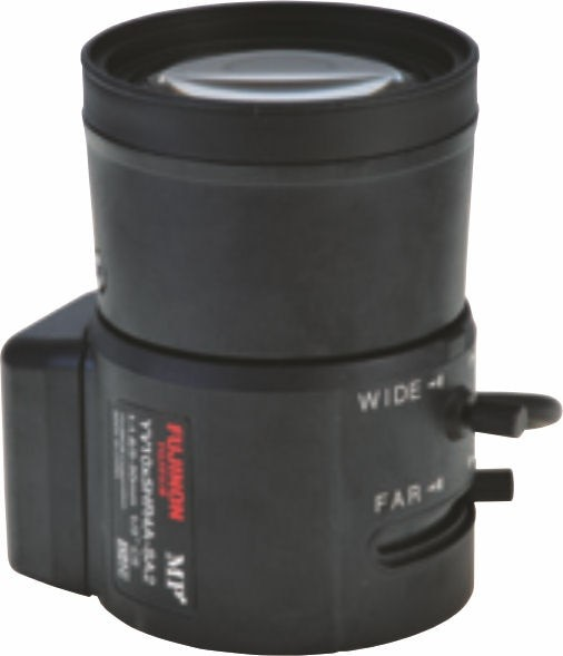 "Fujinon YV10x5HR4A-SA2 1/3"" Vari-Focal 1.3 Megapixel DC auto iris Day/Night Lens"