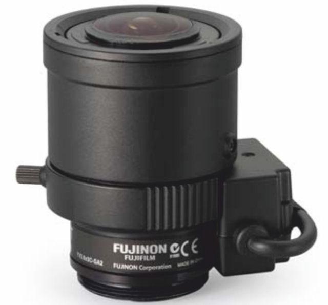 "Fujinon YV2.6x3C-SA2 1/3"" Vari-Focal DC auto iris Lens"