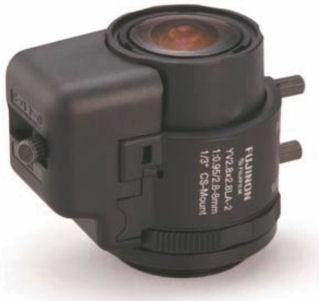 """Fujinon YV2.8x2.8LA-2 1/3"""" Vari-Focal Manual Iris Lens"""