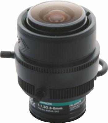 "Fujinon YV2.8x2.8SR4A-2 1/3"" Vari-Focal 3 Megapixel manual iris Day/Night Lens"