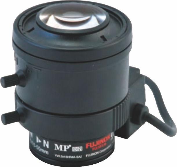 "Fujinon YV3.3x15HR4A-SA2 1/3"" Vari-Focal 1.3 Megapixel DC auto iris Day/Night Lens"