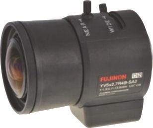 "Fujinon YV5x2.7R4B-SA2 1/3"" Vari-Focal. Day/Night DC auto Iris Lens"