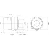 Bosch LFF8012CD35 Ultra Megapixel Lens