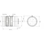 Bosch LFF8012CD75 Ultra Megapixel Lens