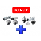 Panasonic WJNXE40W  Additional Camera License Pack for WJ-NX400