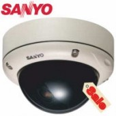 Sanyo VDCD1585VP VR Day/Night Mini Dome Camera