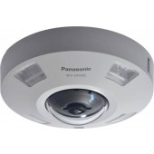 Panasonic WVS4550L iA H.265 360-degree Vandal Resistant Outdoor Dome Camera