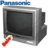 "Panasonic WVCM143 14"" Colour CRT Monitor With Built in Switcher"