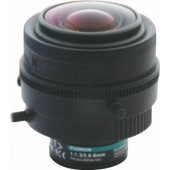 "Fujinon YV2.7x2.2SR4A-2 1/3"" Vari-Focal 3 Megapixel manual iris Day/Night Lens"